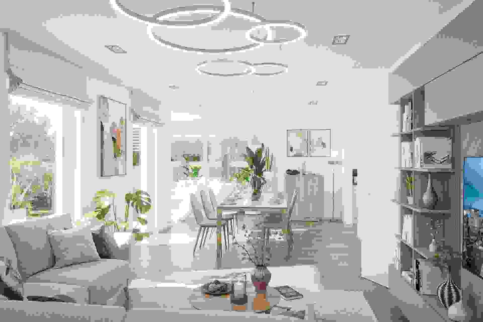 CLOU 145 Wohn- und Essbereich